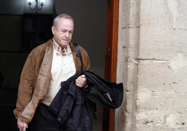 El juez José Castro, en la audiencia de Palma.