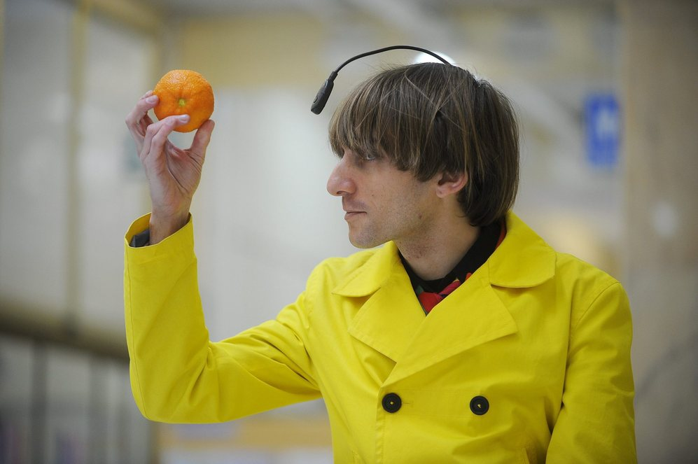 El cíborg Neil Harbisson.