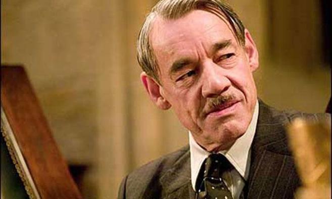 Imagen del actor en la última película de Harry Potter