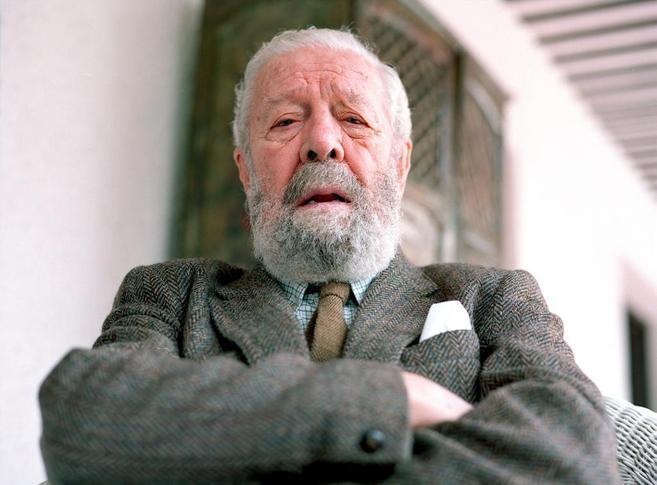 El cineasta valenciano, Luis garcía Berlanga.