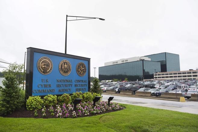 Imagen de la sede de la Agencia Nacional (NSA) en Fort Meade,...