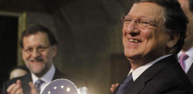 Mariano Rajoy y José Manuel Durao Barroso