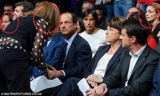 Hollande, con sus '3 parejas'.
