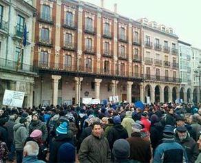 Plaza del Ayuntamiento en Burgos.