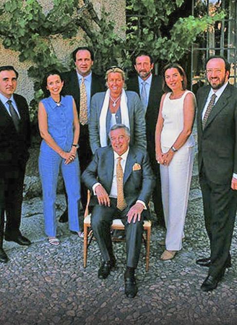De izquierda a derecha, Juan Carlos, Marta, Pablo, María José,...