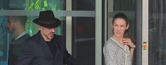 Telma Ortiz y su marido, en una imagen reciente.