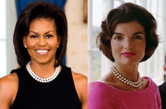 Michelle Obama y su hortera fiesta en el salón preferido de Jackie...