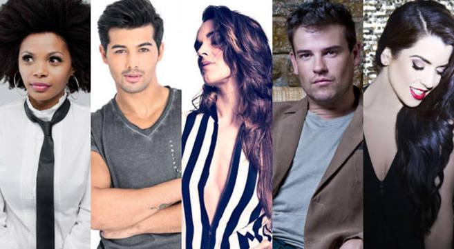 Los cinco aspirantes a representar a España en el festival de...