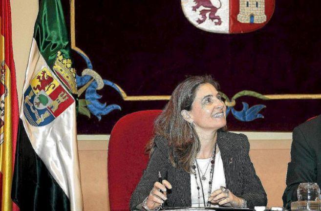 María Jesús Mejuto, en su etapa como consejera de Salud de...