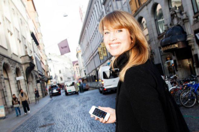 Eva Sannum, en una foto de la revista especializada en publicidad...