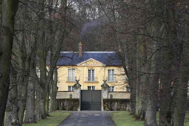 La residencia presidencial de La Lanterne.