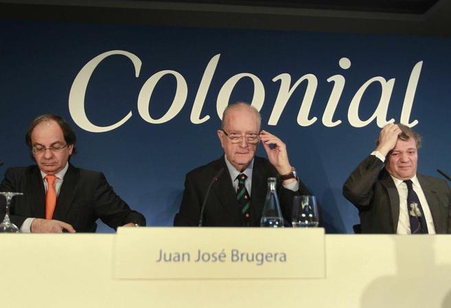 José Bruguera en la junta de accionistas de Colonial