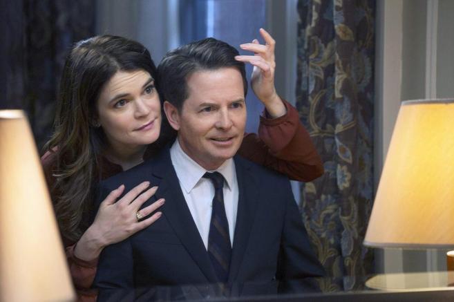 Michael J. Fox, en uno de los capítulos de la comedia con toques de...