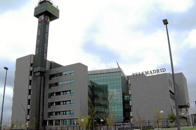 Sede de Telemadrid, que está situada en la Ciudad de la Imagen.