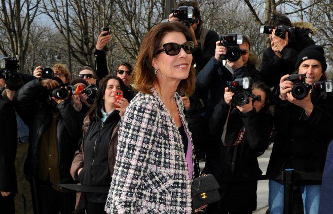 La princesa Carolina de Mónaco, aclamada por los fotógrafos