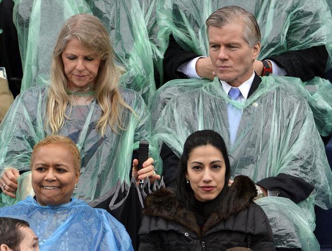 Maureen y Bob McDonnell, ex gobernador de Virginia, en un acto en...