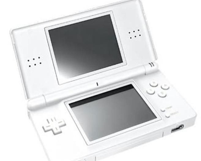 Imagen de una consola Nintendo DS.