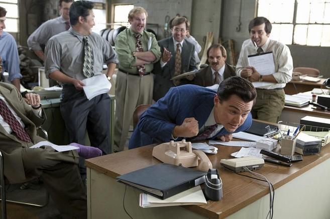Fotograma de 'El lobo de Wall Street', película elegida...