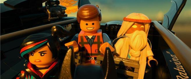 Fotograma de 'La LEGO película'.