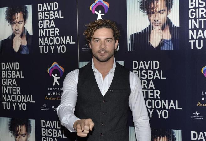 David Bisbal, durante la presentación de 'Tú y yo'