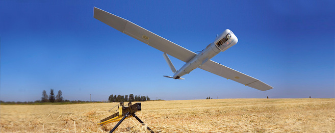 Imagen de uno de los drones que supuestamente están espiando a los...
