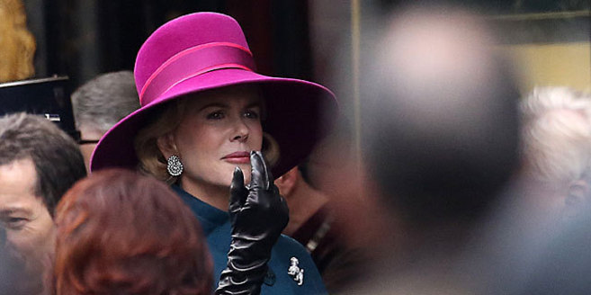 Kidman, en un momento de la película, caracterizada como Grace Kelly