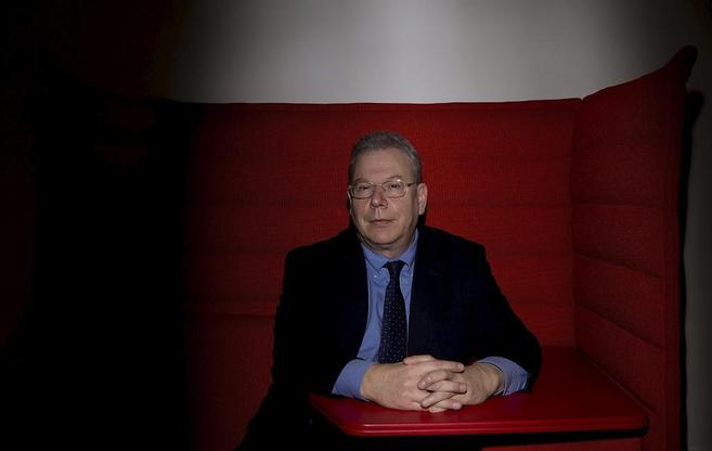 David Levy, durante la entrevista.