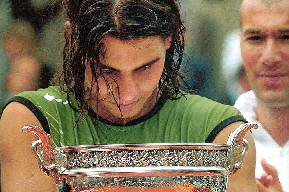 Su primera victoria en París fue en 2005 ante Mariano Puerta y...