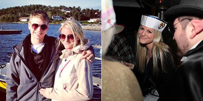 Yair Netanyahu y Sandra Leikanger, en un viaje a Noruega, y la chica...