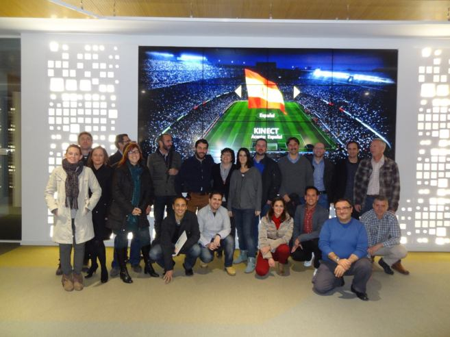 Profesores del Grupo Sorolla en el Congreso de Microsoft.