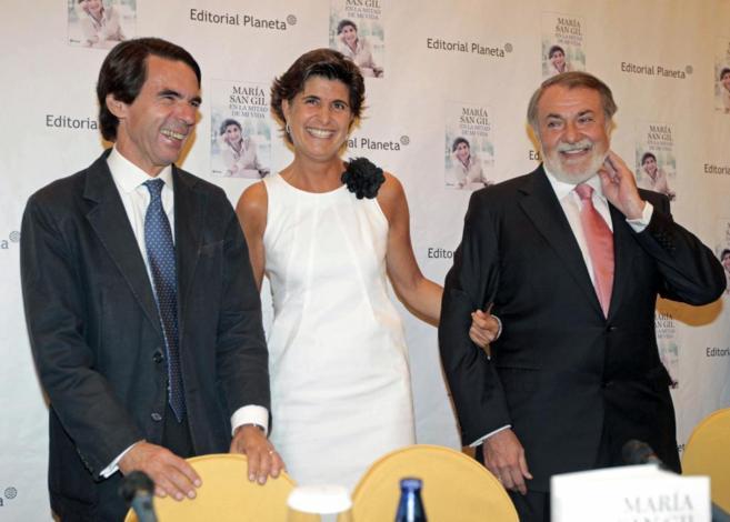 José María Aznar,Jaime Mayor Oreja  María San Gil en la...