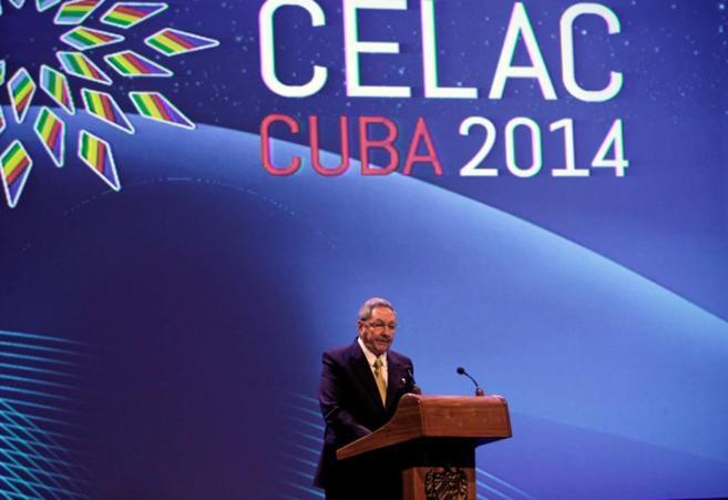 Raúl Castro, en su discurso de inauguración