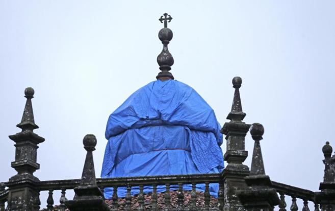 La lona de la Catedral.
