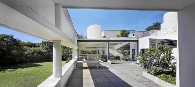 En Villa Saboya Le Corbusier firmó su particular manifiesto...