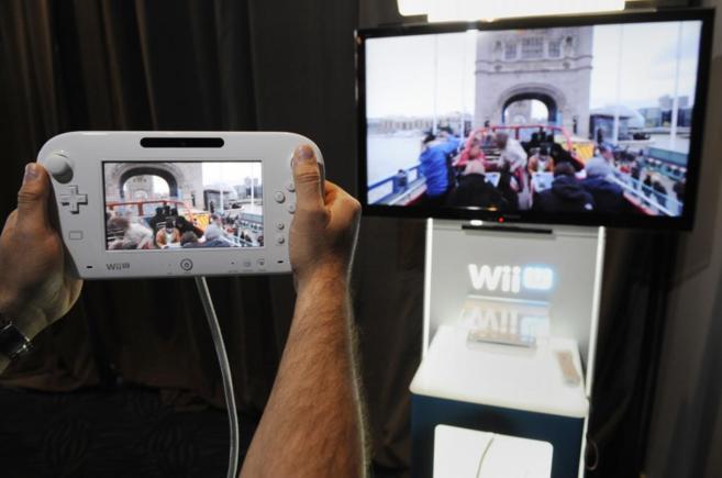 Una Wii U en el E3 de Los Angeles celebrado el pasado verano.