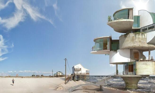Una de las fotografías de su serie 'Dauphin Island'.