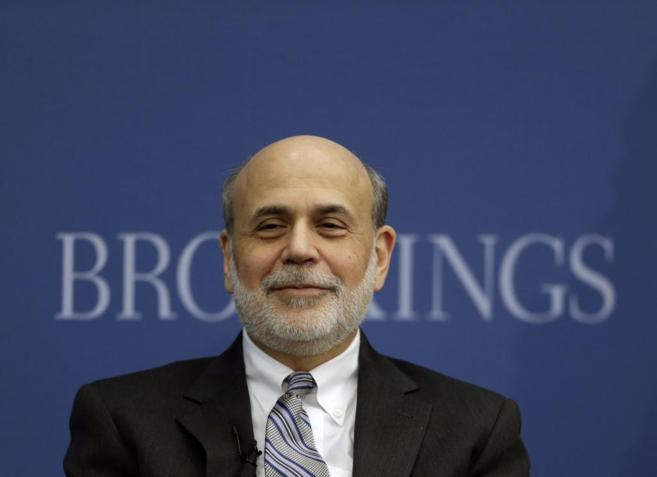 Bernanke ha participado en su última reunión como presidente de la...