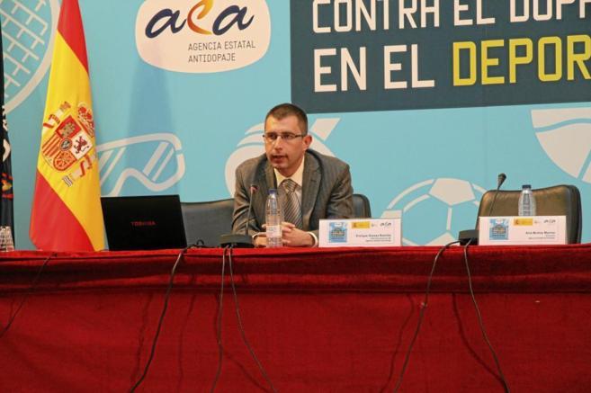 Enrique Gómez Bastida, director de la Agencia Española de...