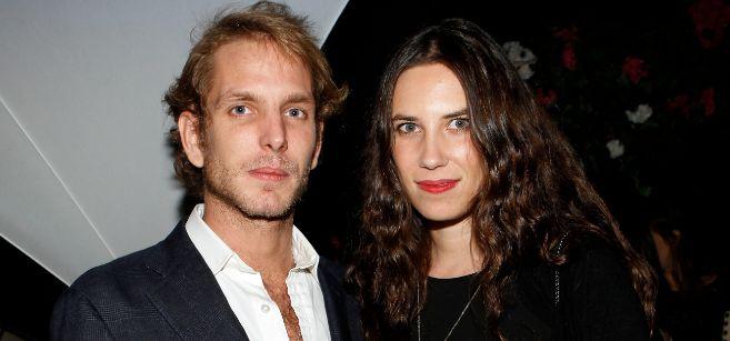 Imagen reciente de los novios, Andrea Casiraghi y Tatiana Santo...