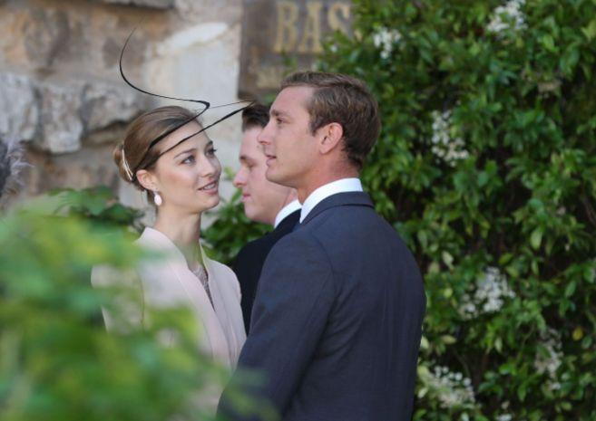 Beatrice Borromeo y Pierre Casiraghi en la boda religiosa de Félix de...