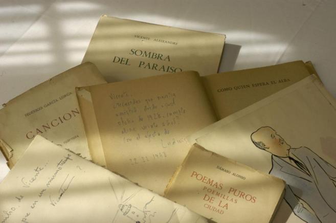 Muestra del archivo Vicente Aleixandre
