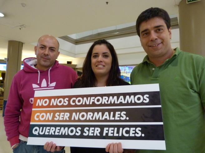 Roberto,  Akorán y Sergio, tres afectados por trastornos mentales.