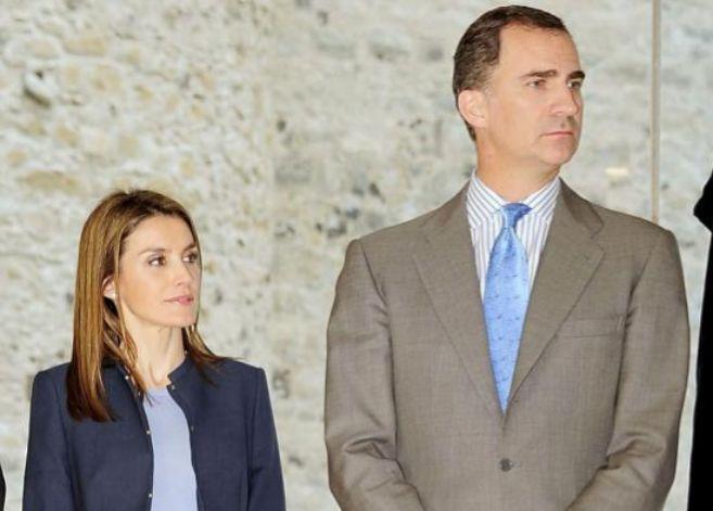 Los Príncipes de Asturias, hace unos días en las Palmas de Gran...