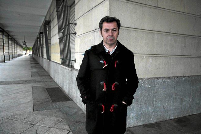 Ricardo Lucas, padre del niño al que se negó la plaza en el colegio,...