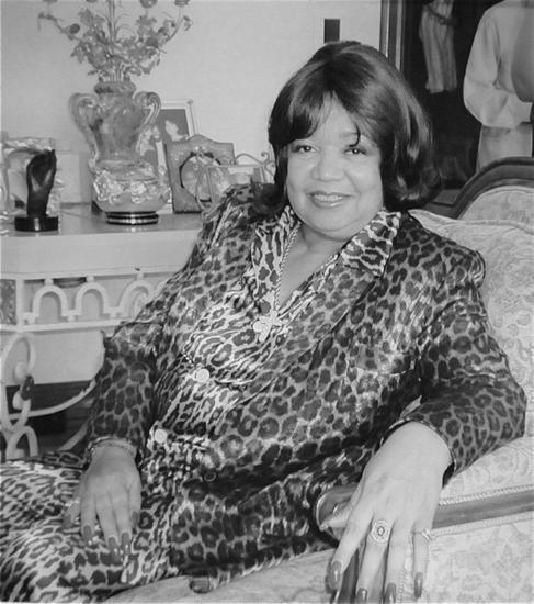 Anna Gordy Gaye, en una imagen de archivo.
