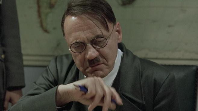 Fotograma de la película sobre Hitler 'El hundimiento'.