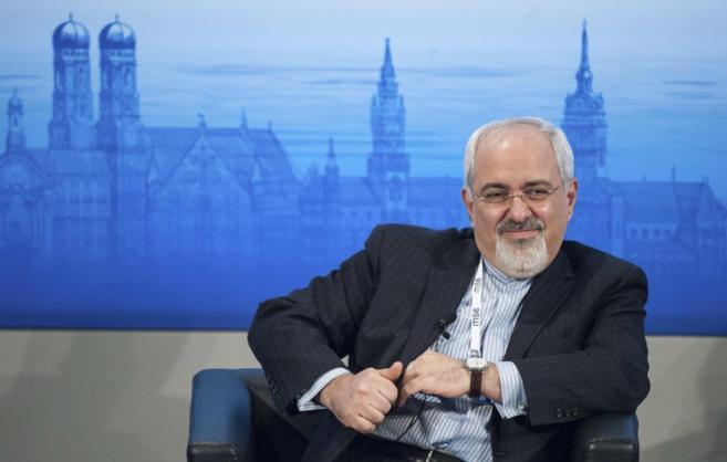 Mohamed Javad Zarif, ministro de Exteriores iraní, en la Conferencia...