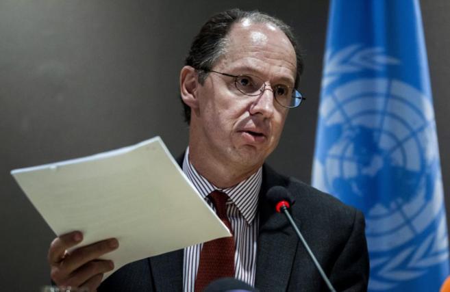 Pablo de Greiff ofrece en Madrid un balance preliminar de su informe.