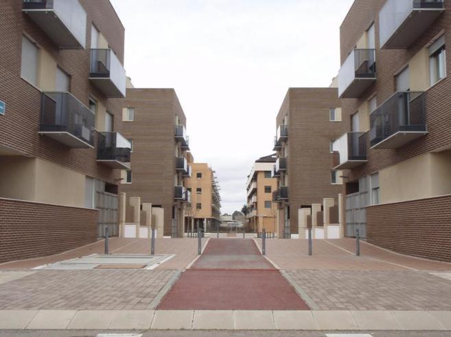 Bloques de viviendas pertenecientes a la Sareb.