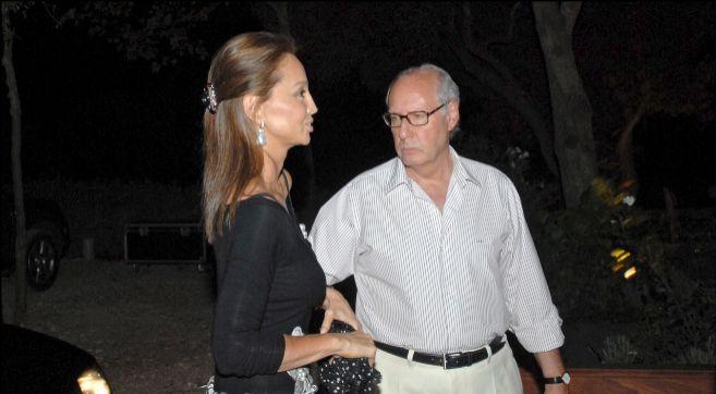 Isabel Preysler y Miguel Boyer, en una de las últimas vacaciones que...